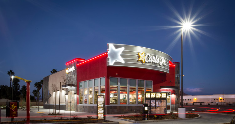 Grand Opening: Carl's Jr  in Perris, CA - KZ Companies